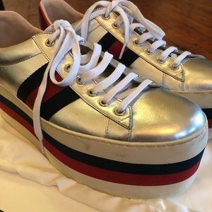 54e2e676f5d52 Gucci Shoes - Gucci Men s Platform Sneakers